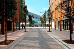 Quartiere Le albere. Renzo Piano. Dal sito:http://godsavescities.weebly.com/blog/