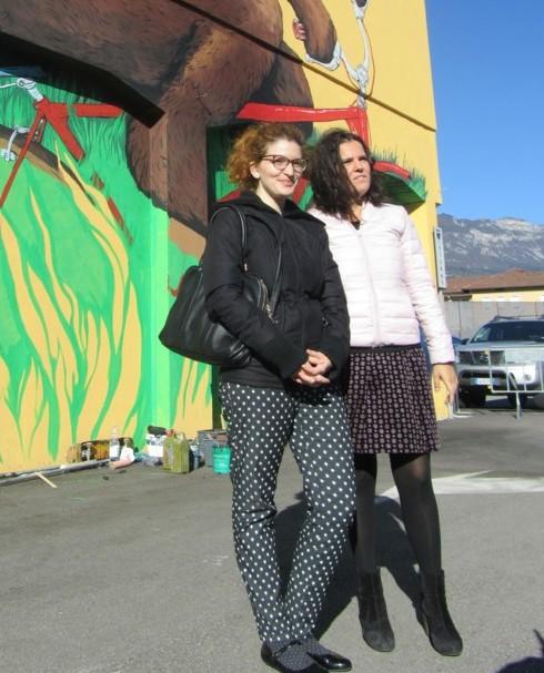 Giulia Robol e Luisa Filippi